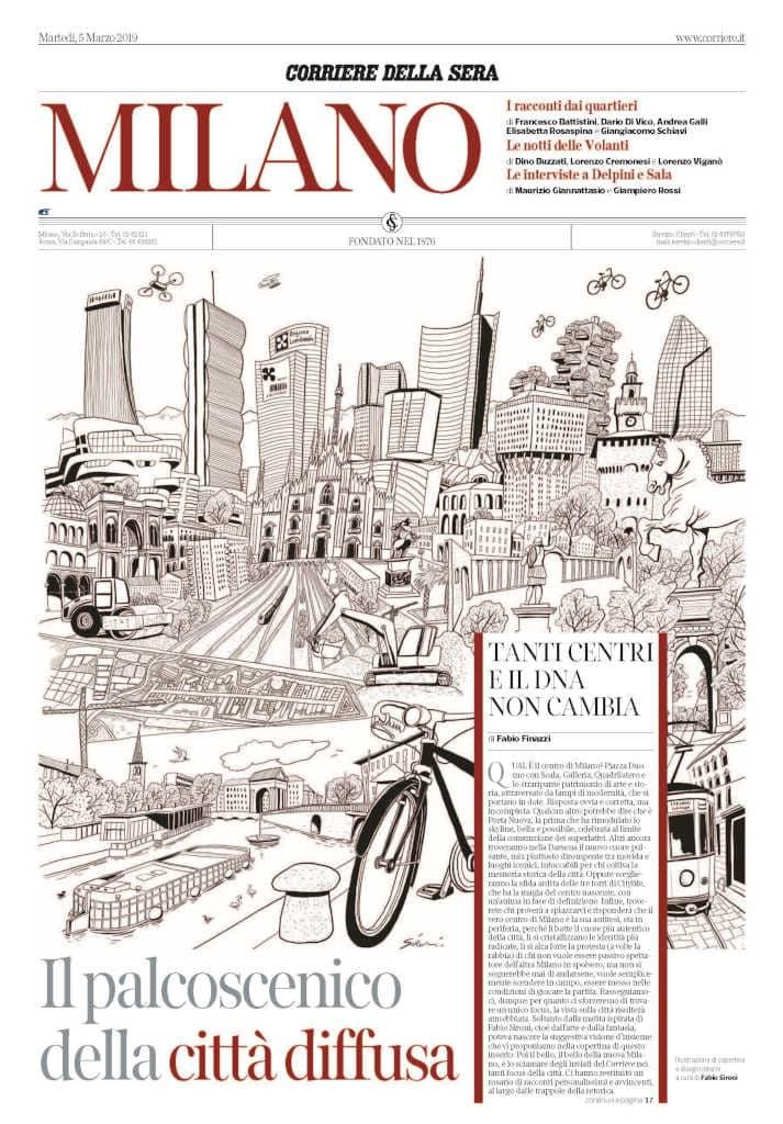 864b9cf7be ... inserto del Corriere della Sera dedicato alla città, si presenterà in  edicola arricchito nei contenuti e con una nuova veste grafica.
