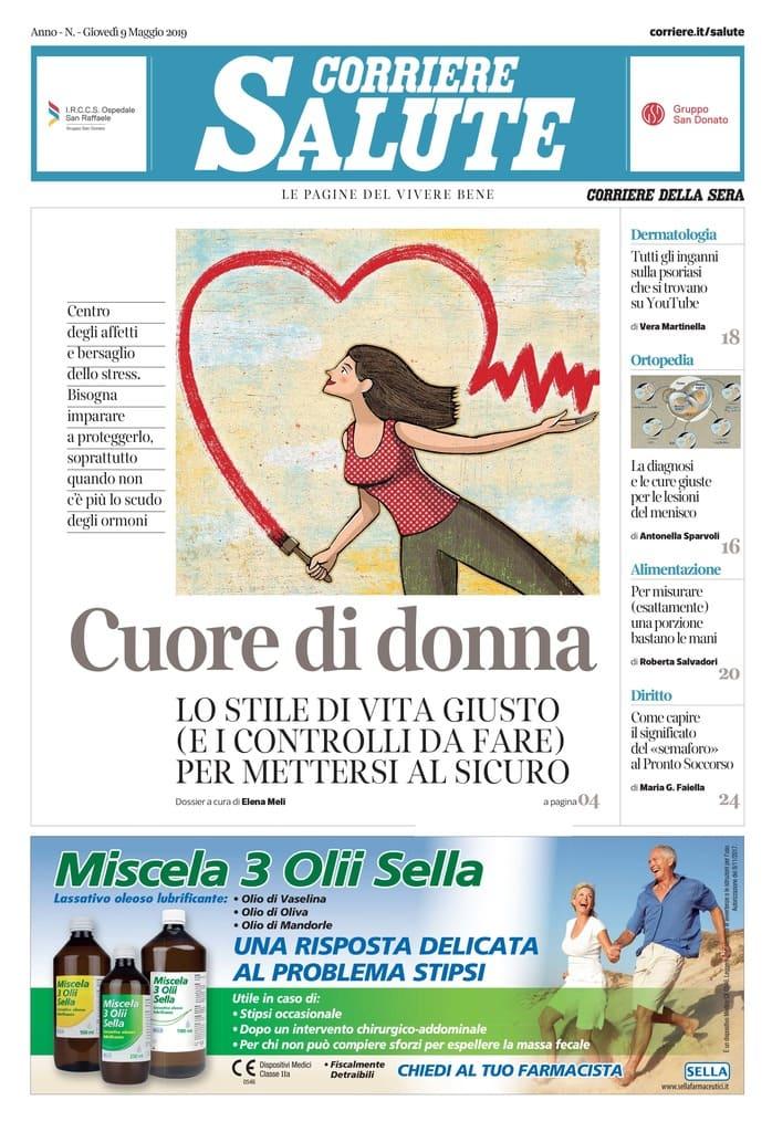 43e7123afe26 8 maggio 2019 - Debutta domani 9 maggio Corriere Salute