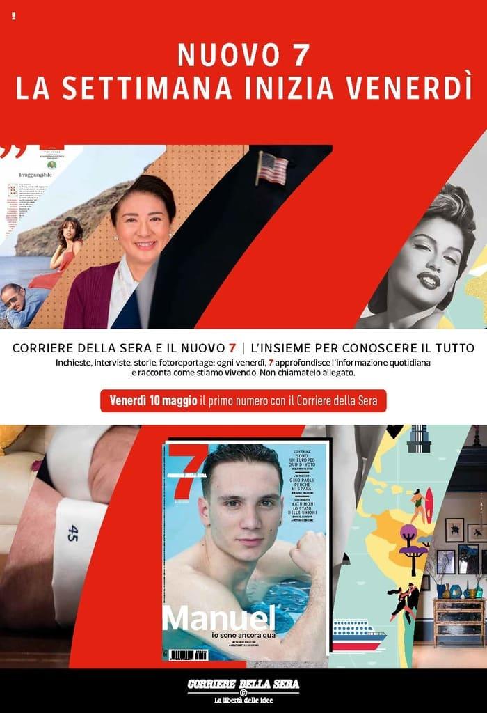 1c230481ac Giornalisti e personaggi insieme al direttore saranno protagonisti a Milano  presso il ClubHouse Brera di '7 pm', una nuova serie di conversazioni  aperte ai ...